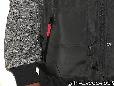 Fatal Clothing Mens Removable Sleeve Full Zip Small