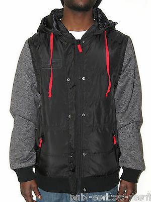 mens 69 50 removable sleeve hoodie jacket