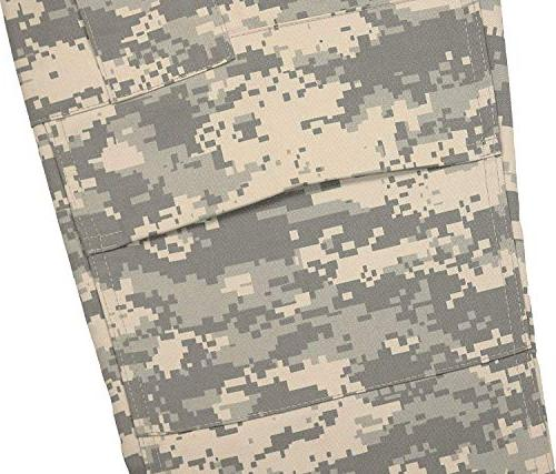 Army Universe Mens Digital Camouflage Cargo Pants L