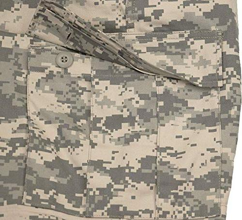 Army Digital Camouflage Military Cargo Pants with L