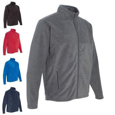 mens athletic coat sport fleece full zip