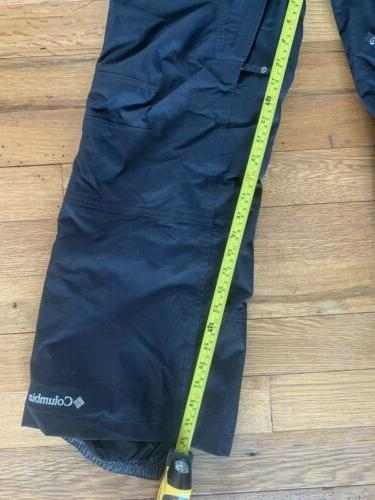 Men's Black Columbia waterproof Small Outdoors