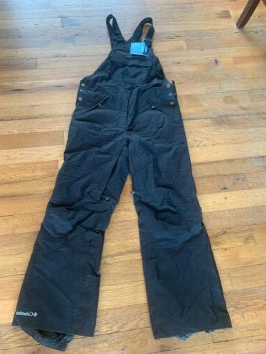 mens black omni tech waterproof bib pants