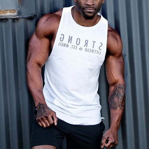 Mens Stringer Top Sports Vest