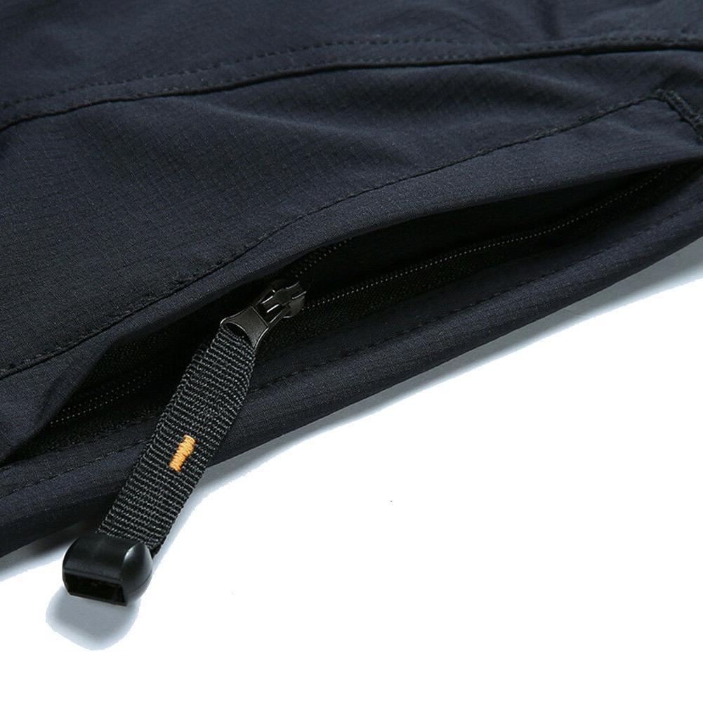 TACVASEN Mens Breathable Dry Pants W/ Belt Climb Trousers
