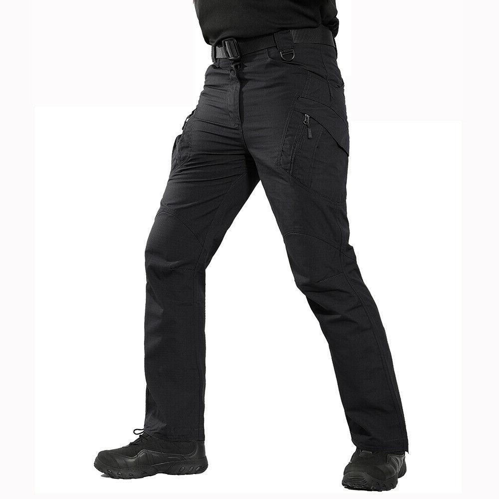Mens Pants Combat Bottoms Pockets