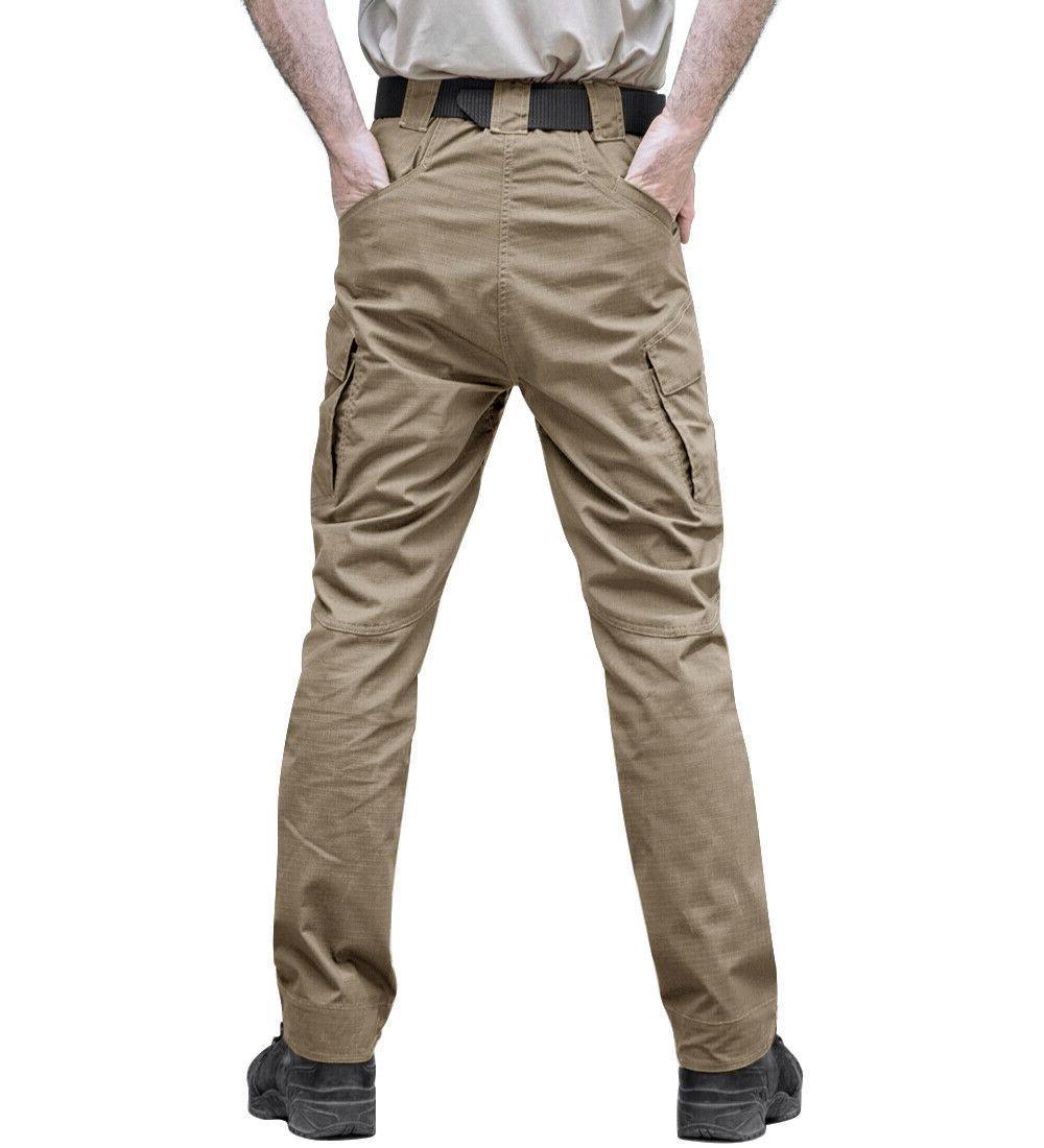 Mens Combat Trousers Bottoms