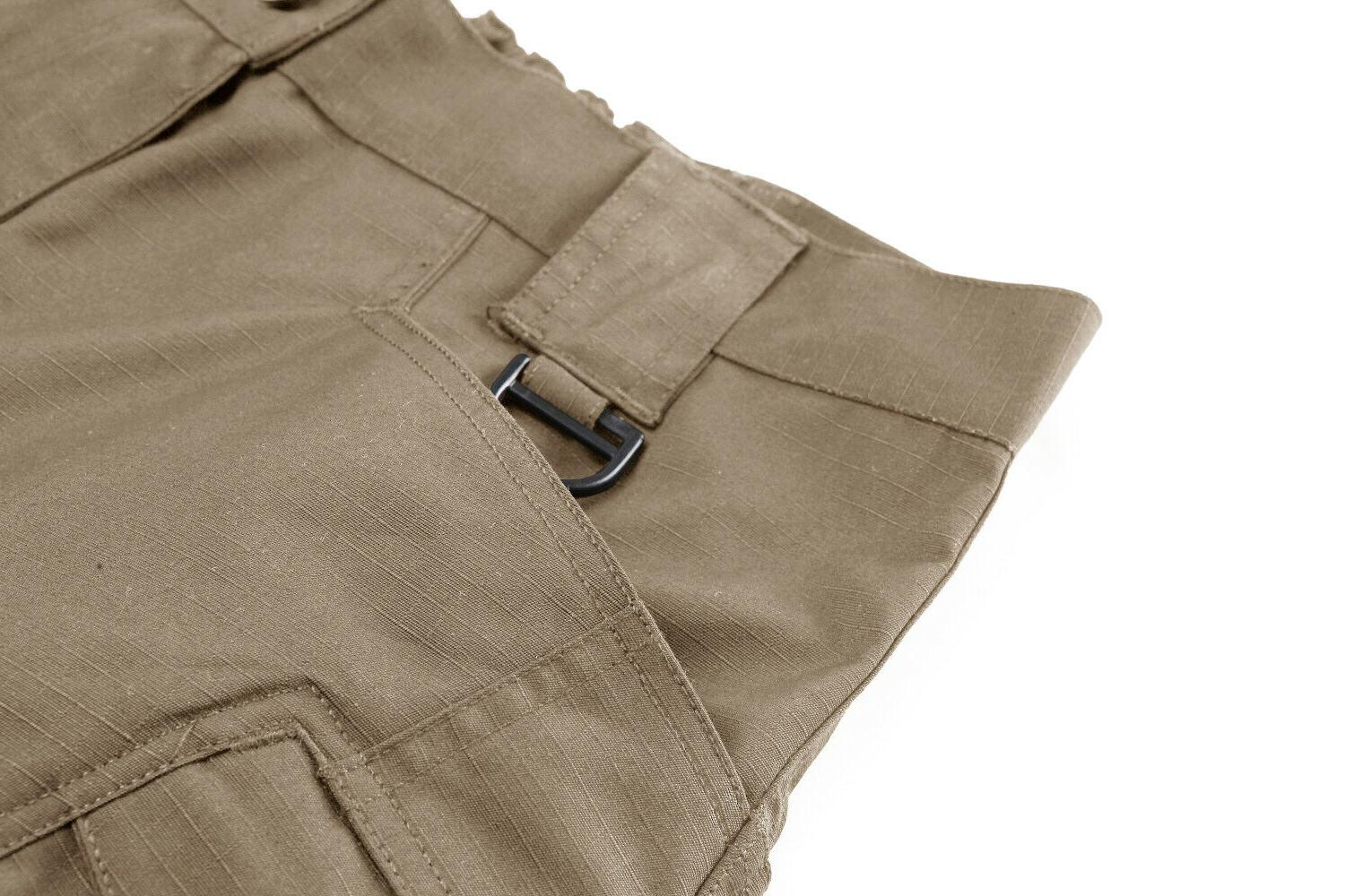 Mens Cargo Combat Trousers Police Bottoms Pockets