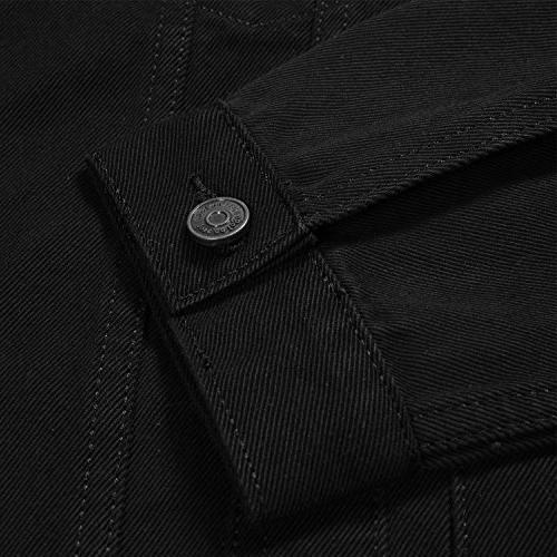 Just Logo Men's Casual Denim Jacket