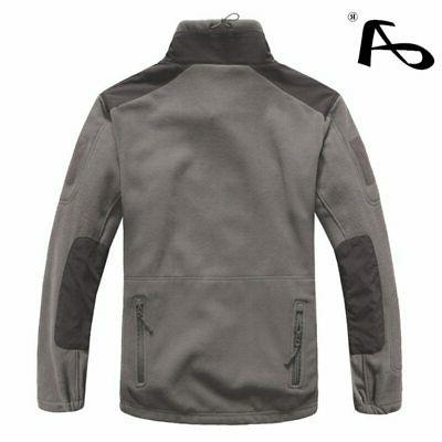 Mens Clothing Winter Fleece Army Softshell Clothing For