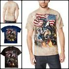 Mens Clothing Fashion Tee Shirt Clinton Printed 100% Cotton