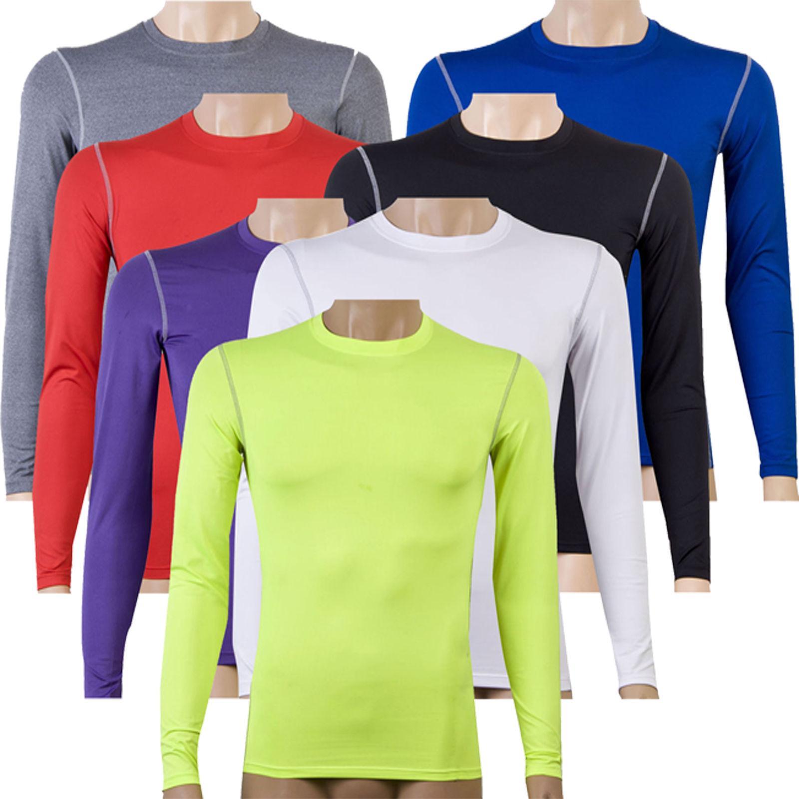 Men Long Sleeve T-Shirt Thermal