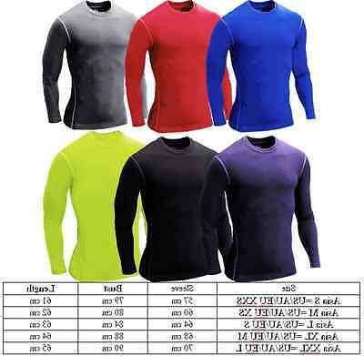 Boys Mens Long Sleeve Muscle Gym