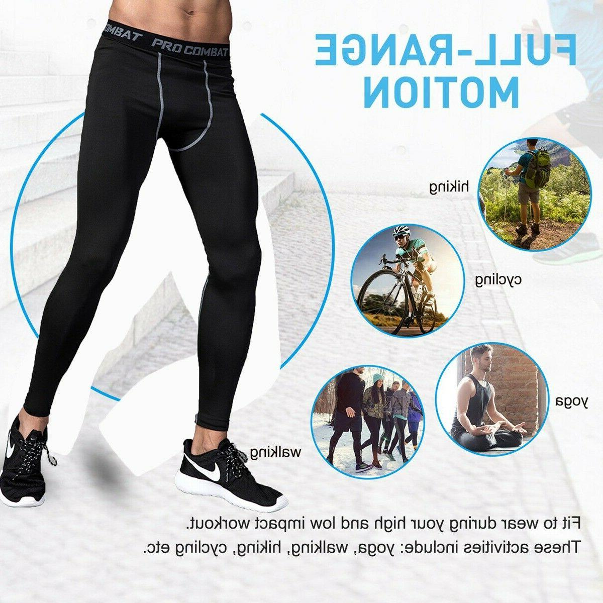 Men's Compression Sports Running Yoga