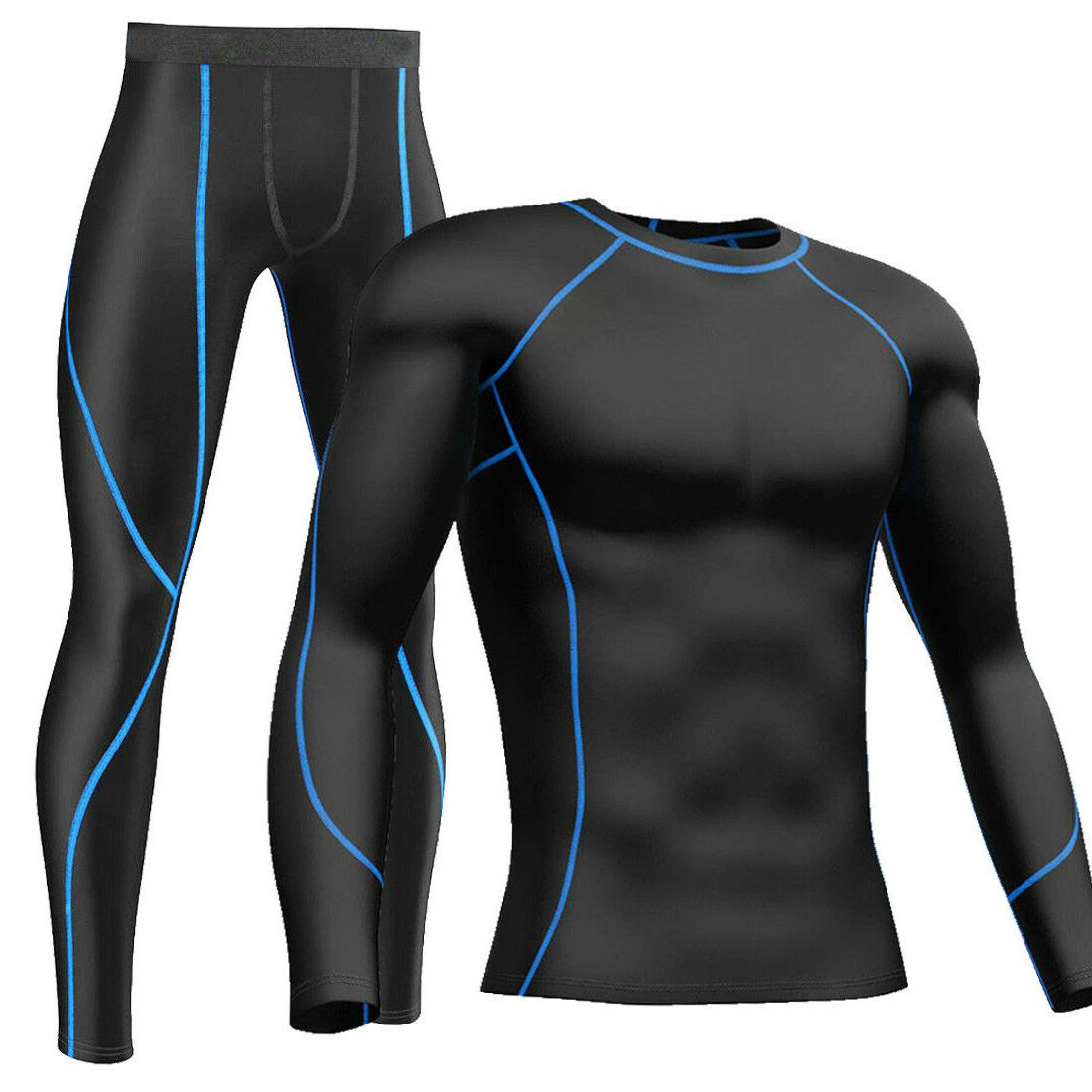 Mens Compression Under Running Clothes