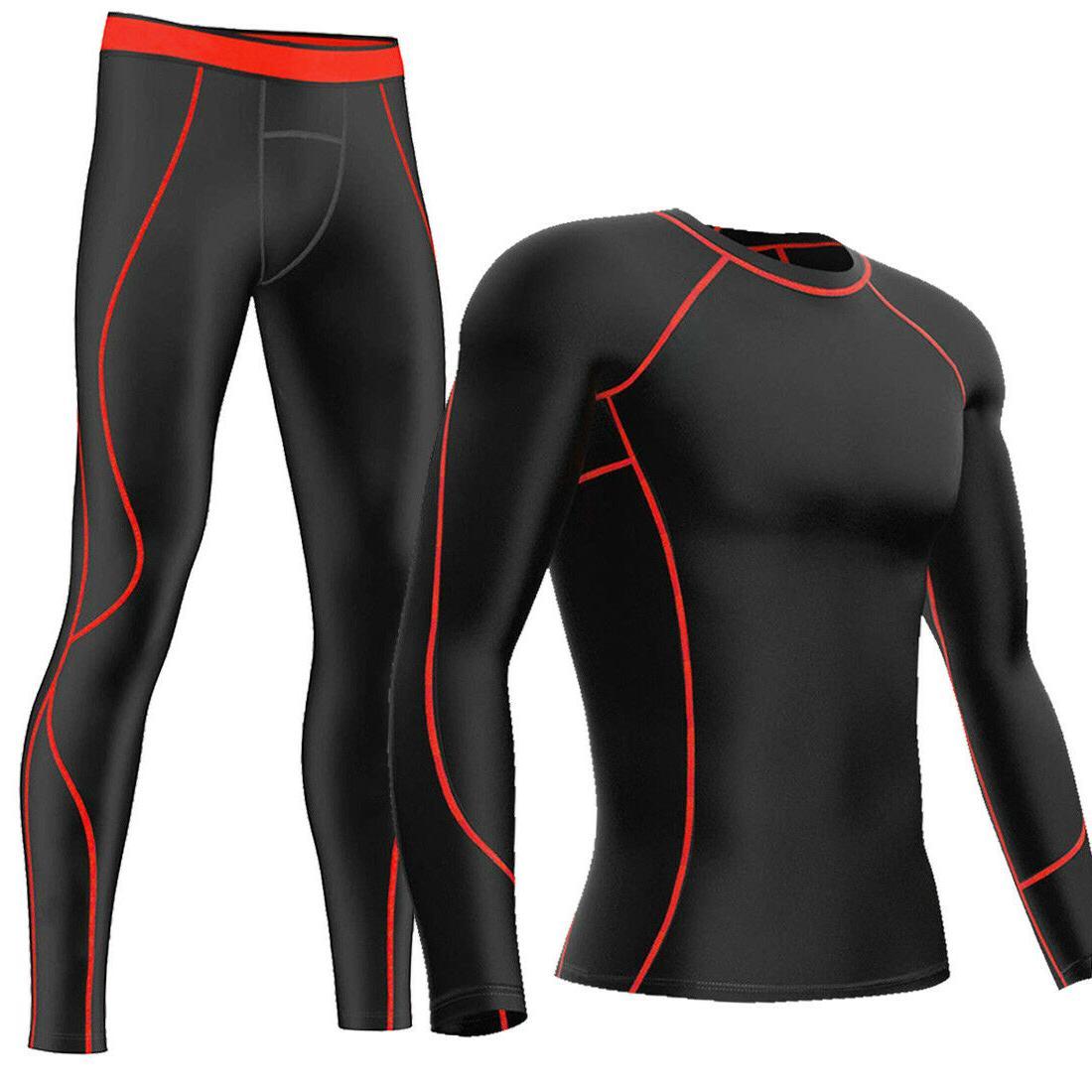 mens compression pants shirt under base layer