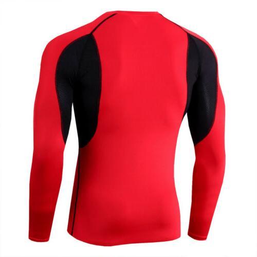 Mens Sleeve Workout Base Sportswear