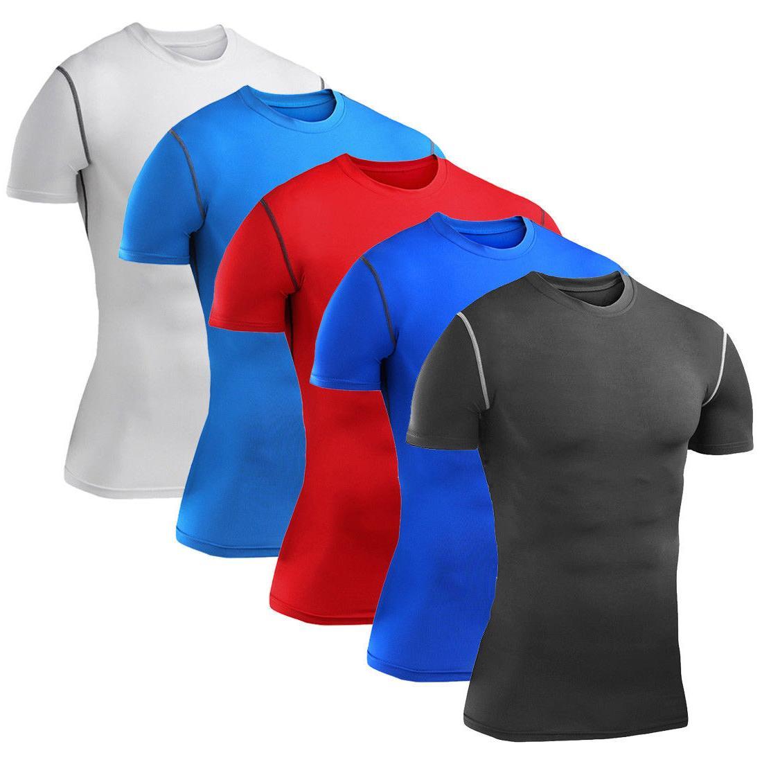 Mens Shirt Vest Pants Gym Clothes Running