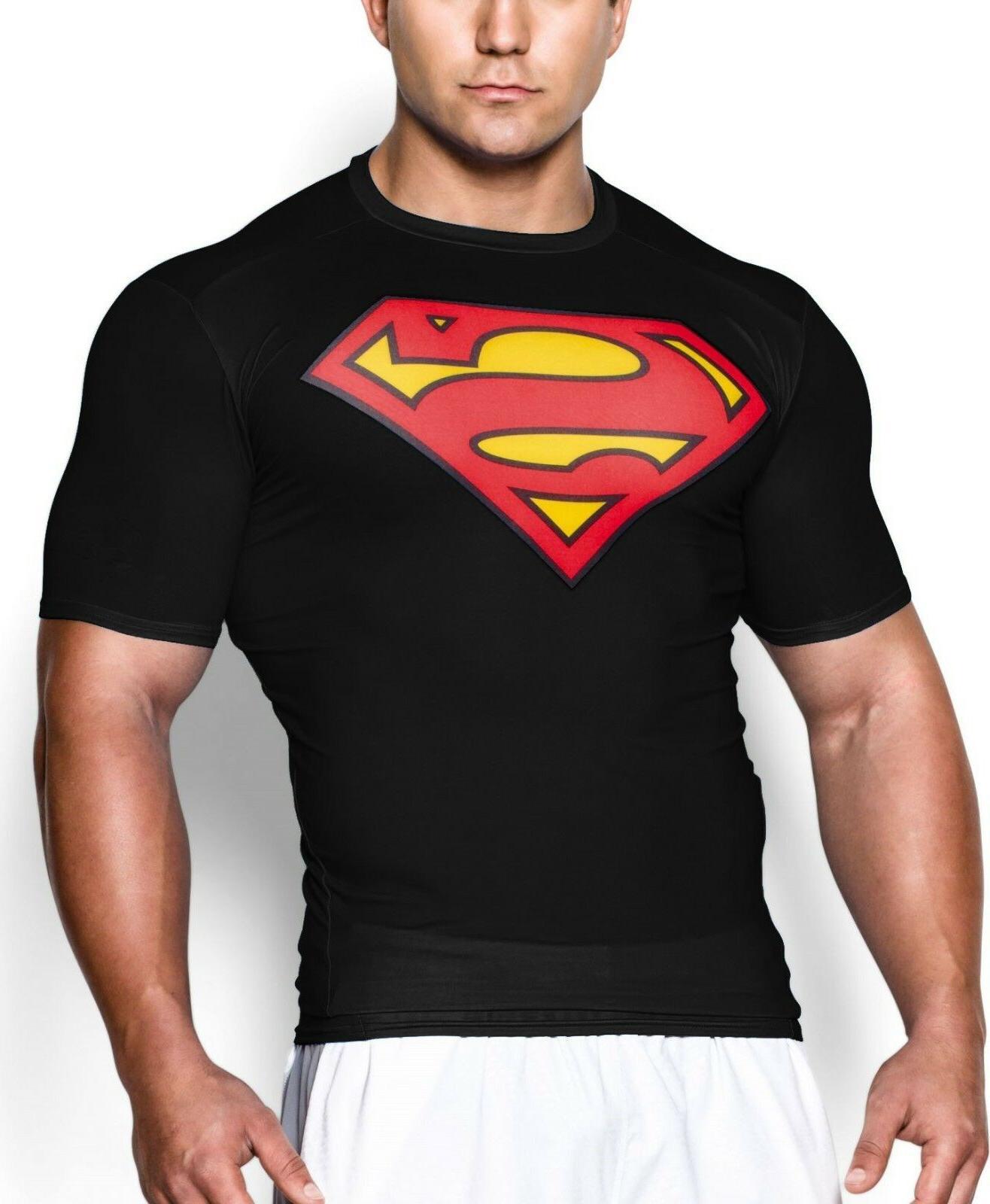 Men Gym Fit Batman Cotton Workout T-Shirt Clothes