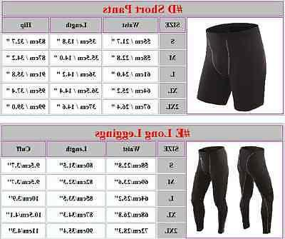 Men Thermal Sports Skin Top Pants