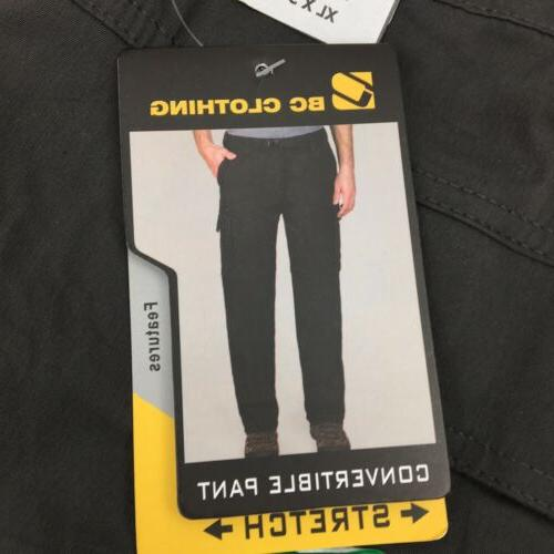 BC Mens Stretch Cargo Hiking Pants