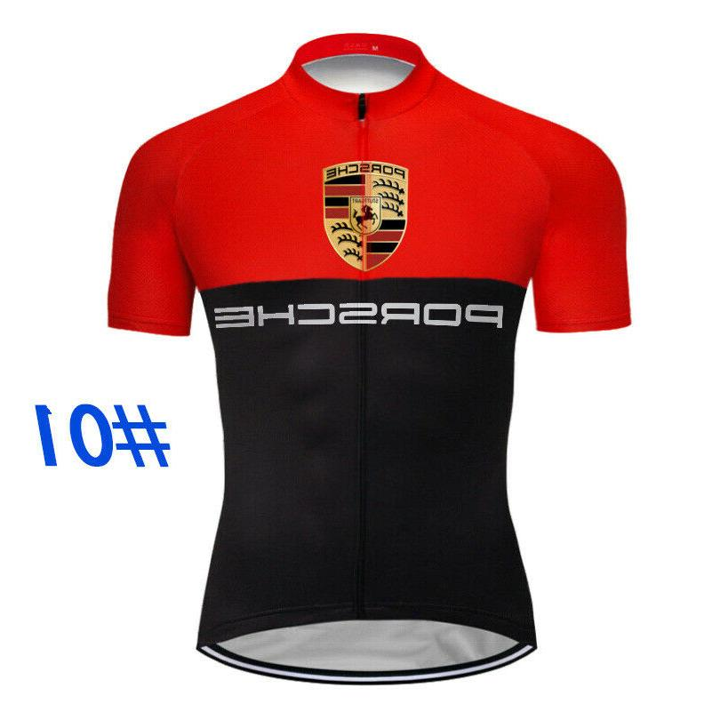 mens cycling jersey bib short kit bicycle
