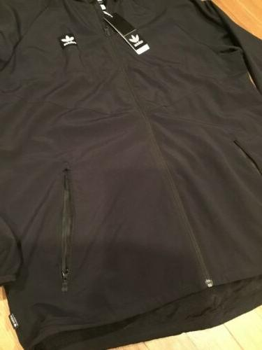 adidas Mens Packable Wind Size Large $70