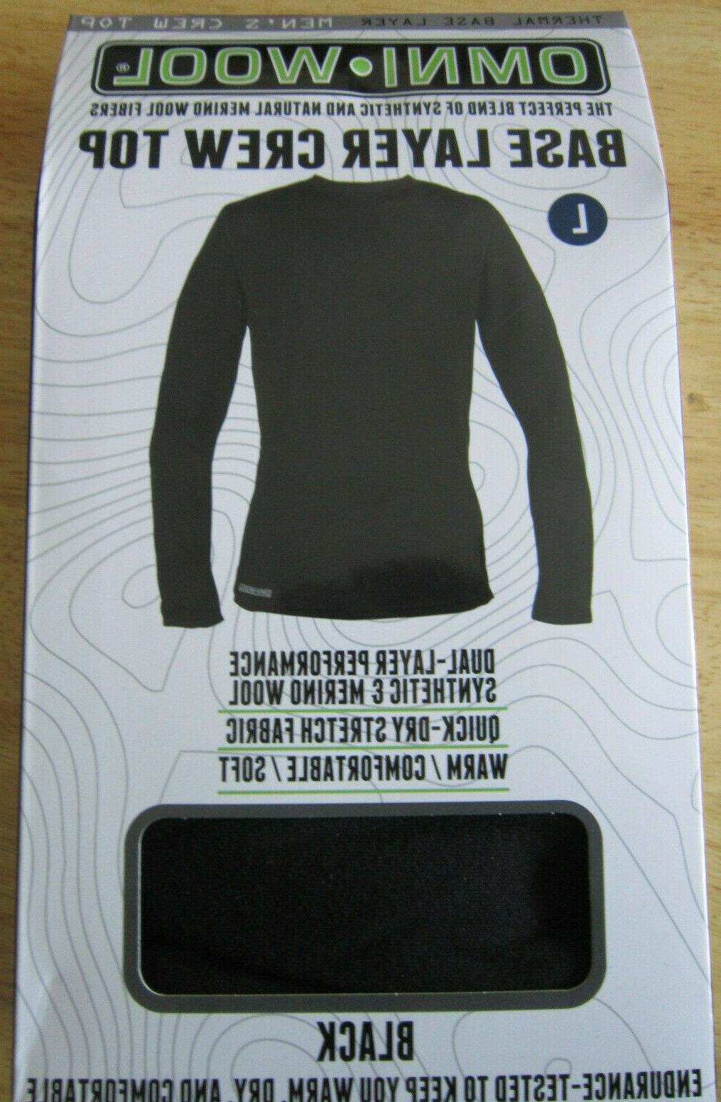Omni-Wool Thermal Layer Long Shirt Top Blend L