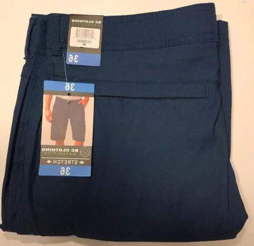 BC Clothing Stretch Shorts Size 36