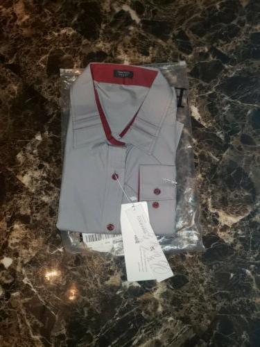 mens fashion slim fit dress shirt casual