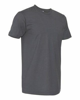 American Apparel Mens Fine Jersey Tee T Blank 2001W up 3XL