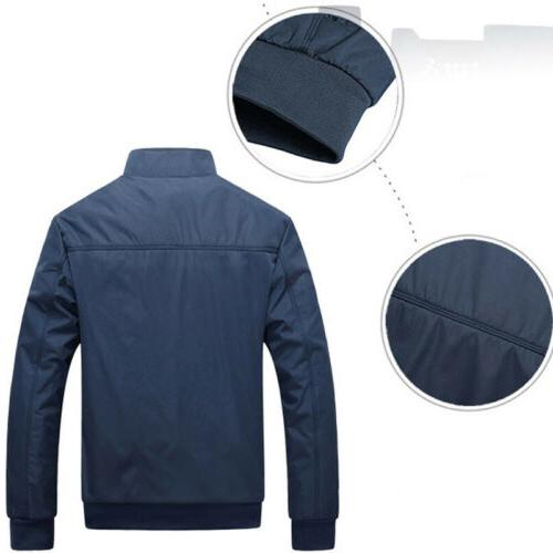 Mens Jacket Lightweight Bomber Outfit
