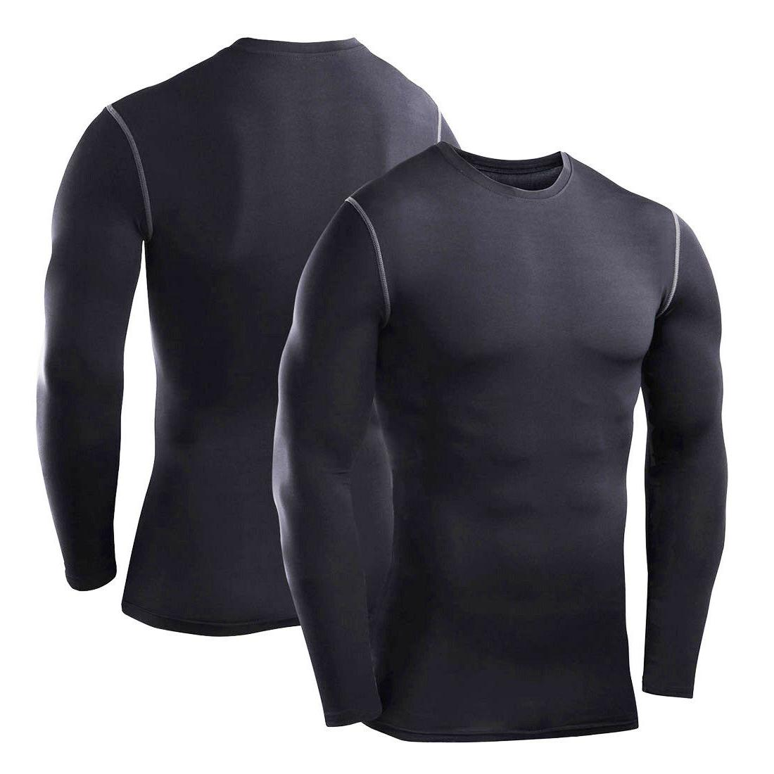 Mens Long Sleeve Gym Sportswear