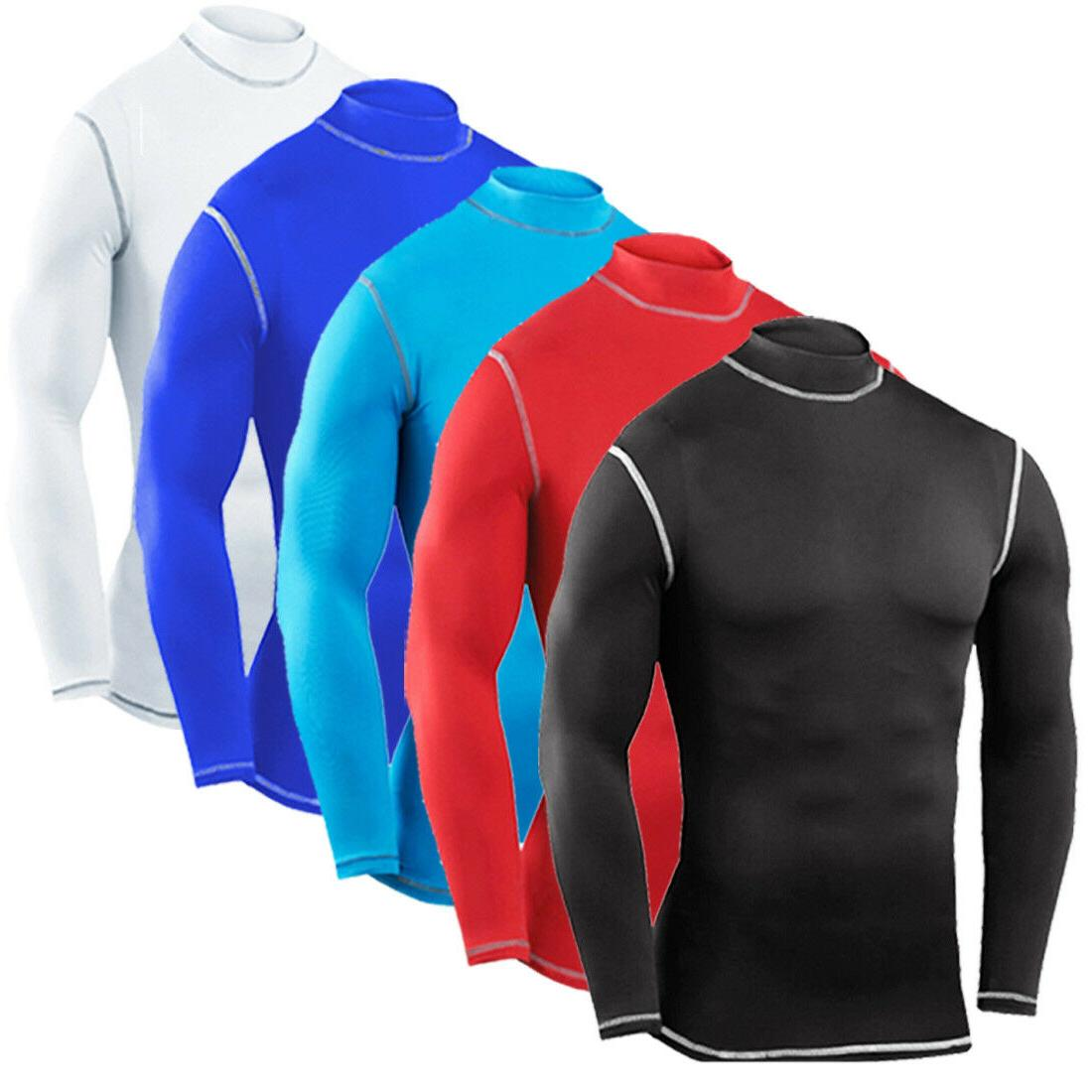 Mens Shirt Sleeve Top Workout Gym Clothes
