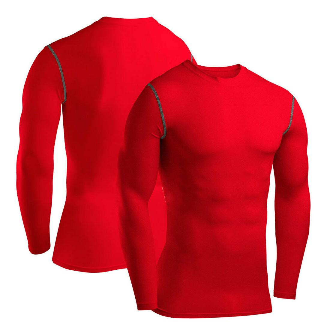 Mens Sleeve Base Layer Workout