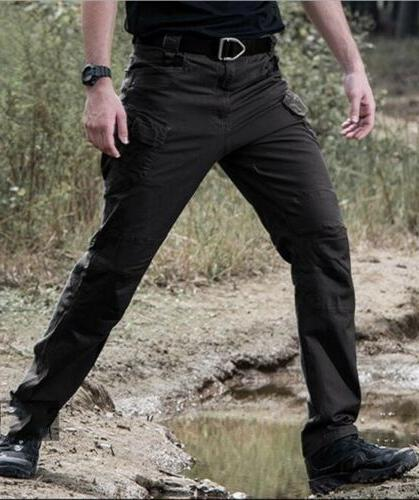 Mens Military Tactical Combat Trousers Casual Cargo Pants