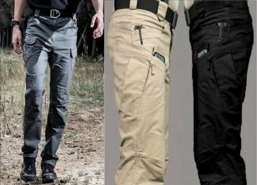 Mens Military Urban Tactical Casual Cargo Pants