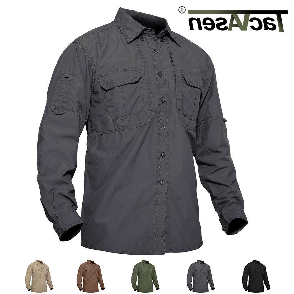 mens quick dry sun protection cargo shirts