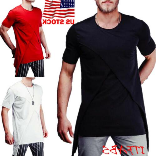 Mens Blouse Top Muscle US