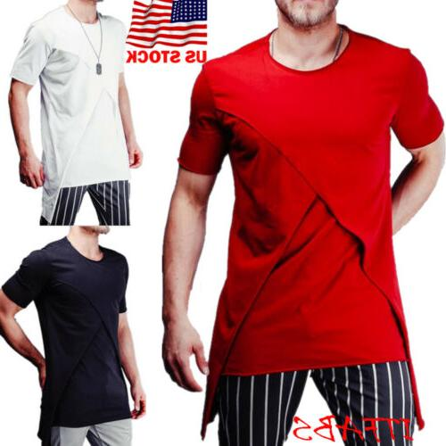 mens short sleeve tee shirt slim fit