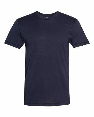 American Apparel Mens Slim Fit Cotton Shirt Tee Med