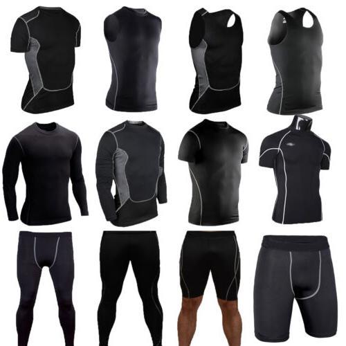 mens sport compression tights base layer under