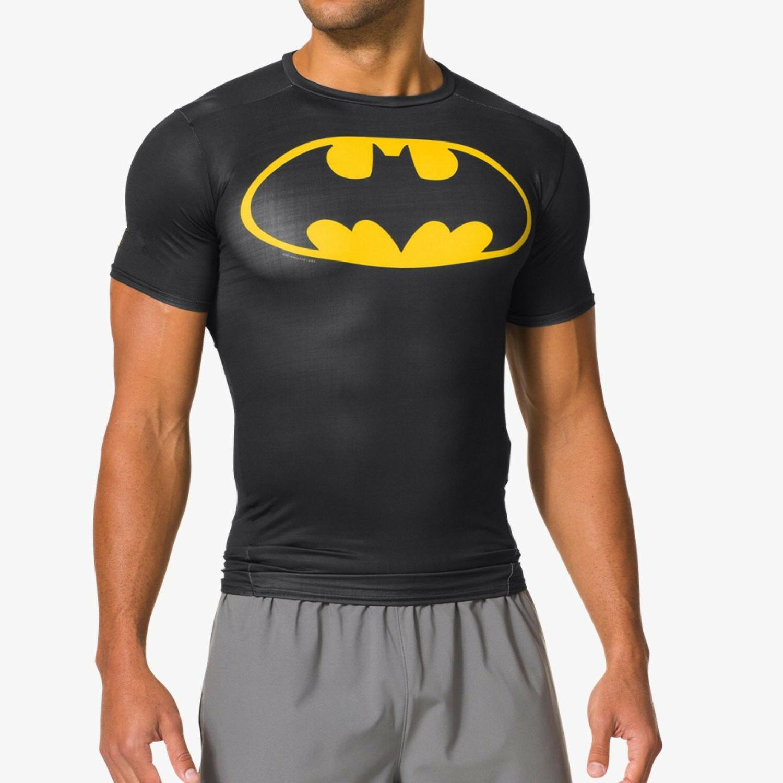 Mens Compression T-shirt Sports Gym Fitness 3D Print Trainning