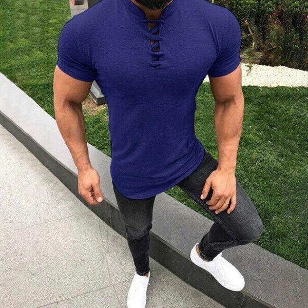Mens T Fit Casual Summer Tee