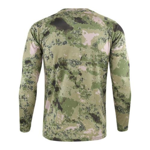 Men's Long Fitness Dry T Clothes Top