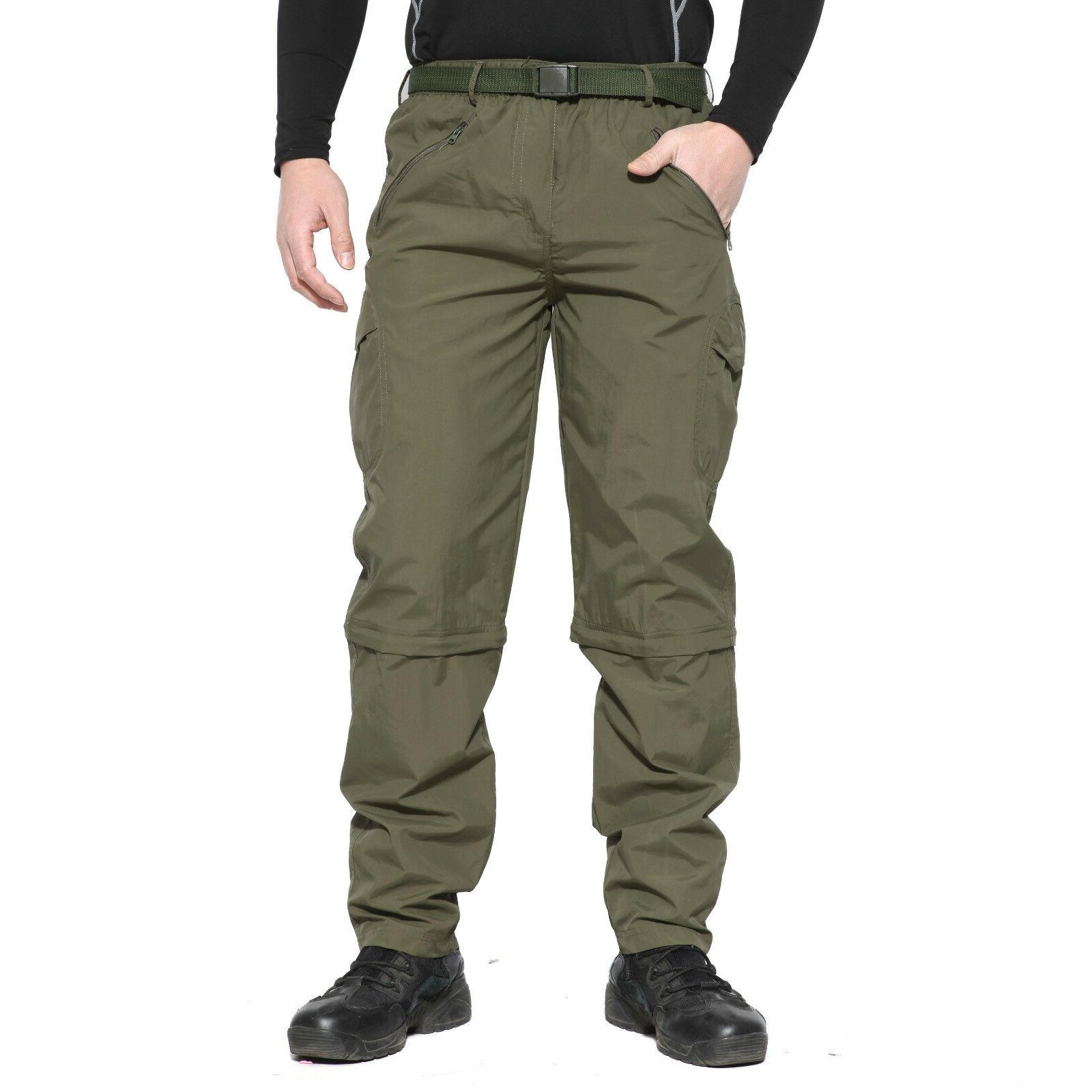 TACVASEN Mens Tactical Quick Drying Hiking Trousers Hunting