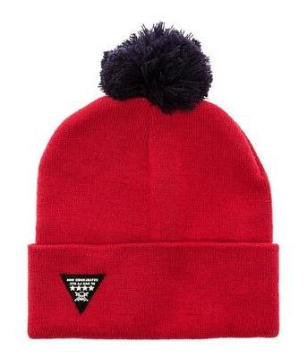 mens the koston pom pom beanie hat