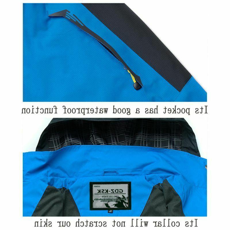 Mens Windproof Coat Winter Outwear