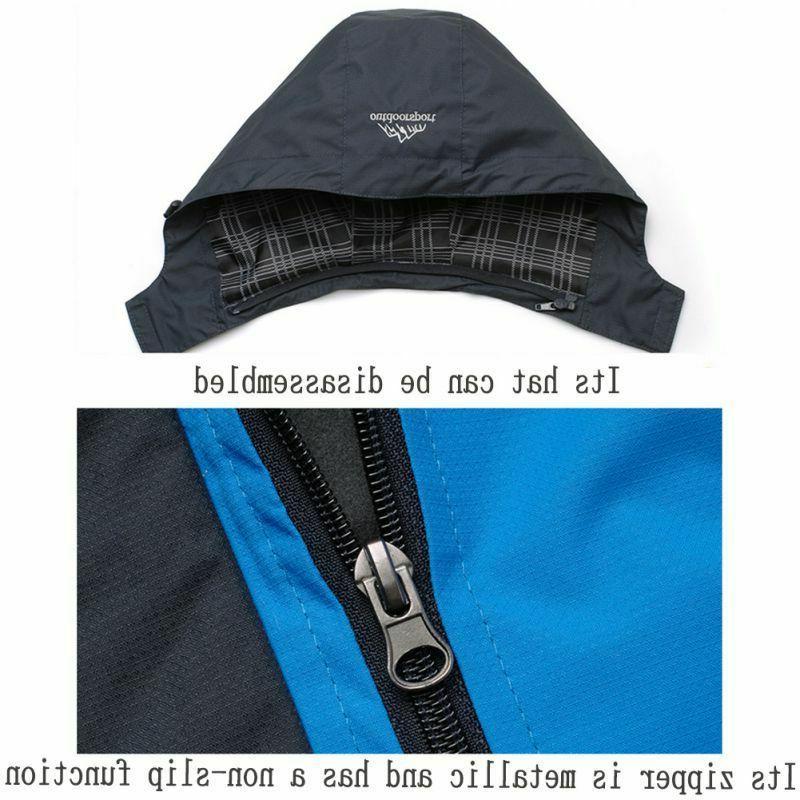 Mens Waterproof Coat Snow Winter Jacket Outwear