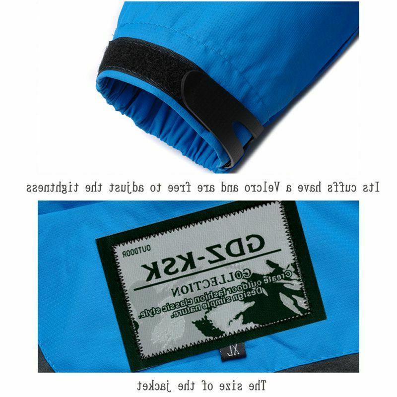 Mens Waterproof Windproof Coat Snow Winter Outwear